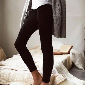 ❄️ Fleece Lined Footless Leggings Regular and Plus